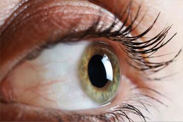 Afbeelding van groen oog